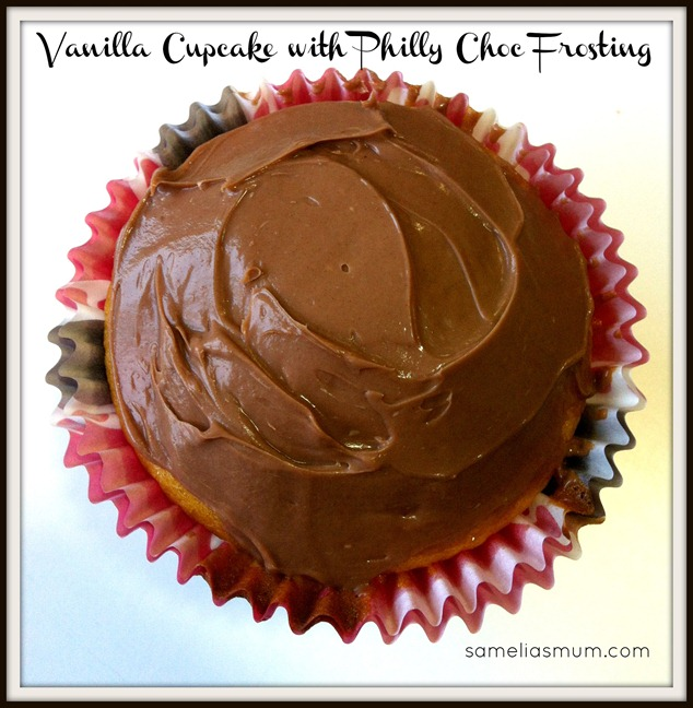 Vanilla Cupcake with Philly Choc Frosting 2