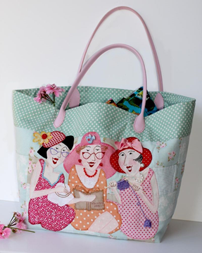 red brolly Sisters Bag