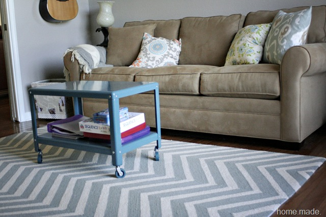 Office Progress Chevron Rug {home.made