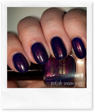 Max Factor Fantasy Fire (over Barry M Indigo)