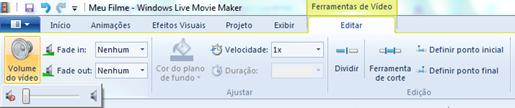 Remover áudio de vídeo