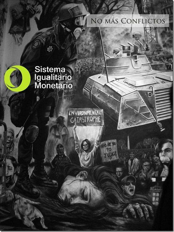 sistema-igualitario-monetario-polica-milicia- protesta -guerra