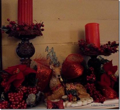 A Walk in the Countryside: Christmas Mantel 2012