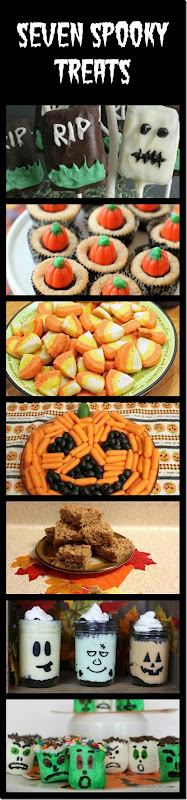 halloween treat collage