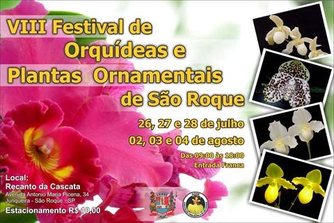 VIII Festival de Orquídeas e Plantas Ornamentais de São Roque