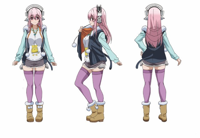 Super Sonico anime 01
