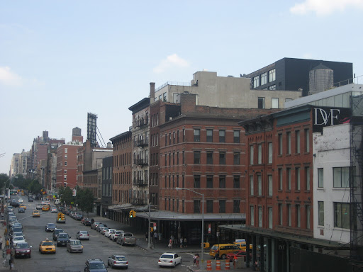 The High Line also has great city views. Maybe it'd a cool place for engagement or wedding photos?