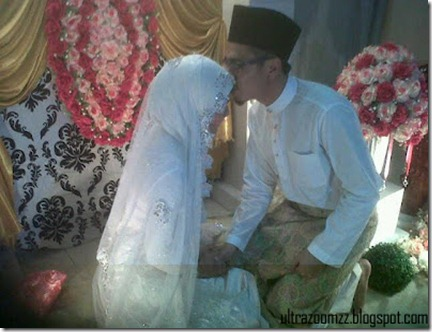 Majlis pernikahan ustaz don