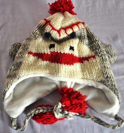 Animal Design Woolen Cap
