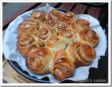 petites pains cannelle