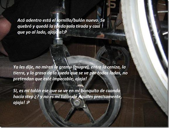 rueda arreglada