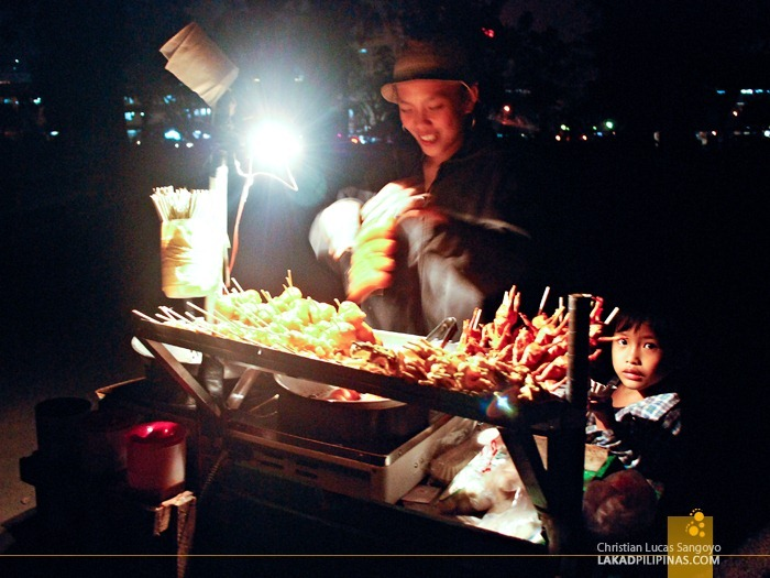 Street Food at Baguio City
