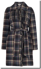 LK Bennett Plaid coat