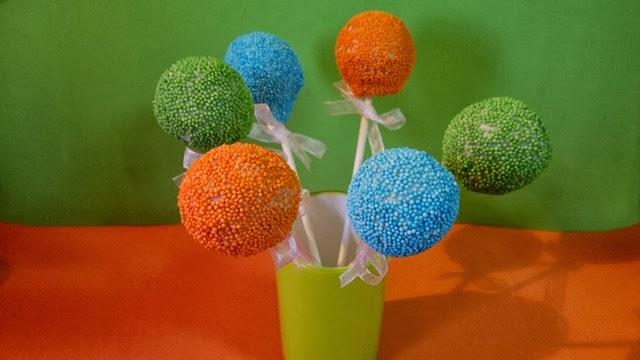 Cakepops Gotetes de sucre