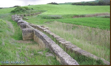 Presa romana de Andelos