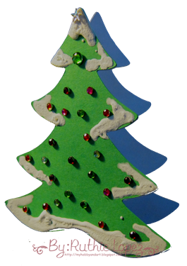 Tree Card - Platypus Creek Digital - Christmas in July - Ruthie Lopez