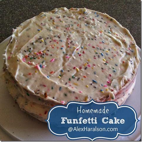homemade funfetti cake4