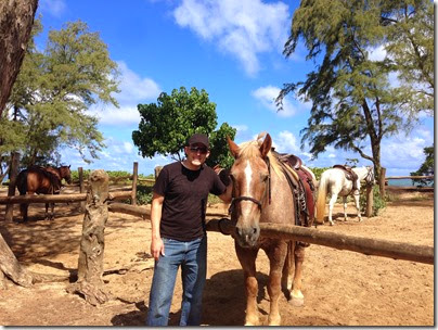 Turtle Bay Resort, horseback riding