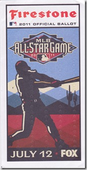 All Star Ballot 2011