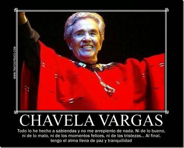 NO ME ARREPIENTO DE NADA CHAVELA VARGAS 1