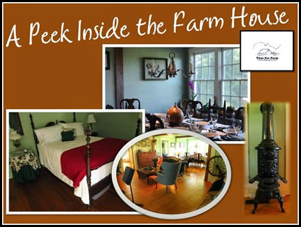 A Peek Inside the Farm House at Thus Far Farms in South Carolina.  Find out more about our wwoofing adventure here at RVing with the Rakis.