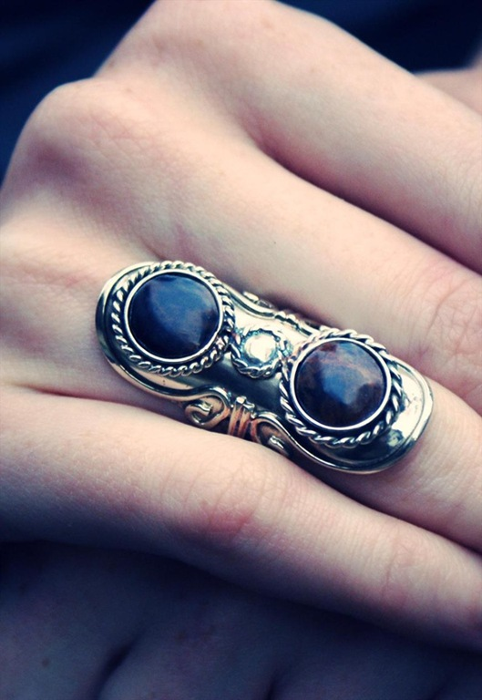 Boho Silver Ethnic Ring, £7.99, Nakedfaun