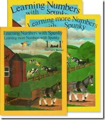 learning numbers with spunky