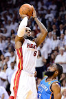lebron james nba 120621 mia vs okc 073 game 5 chapmions Gallery: LeBron James Triple Double Carries Heat to NBA Title