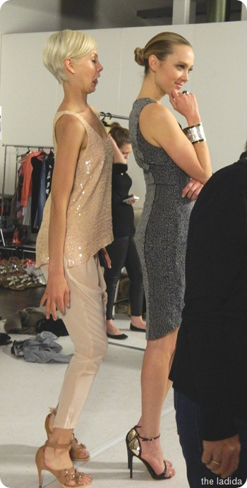 Cleo and Swarovski Backstage (8)