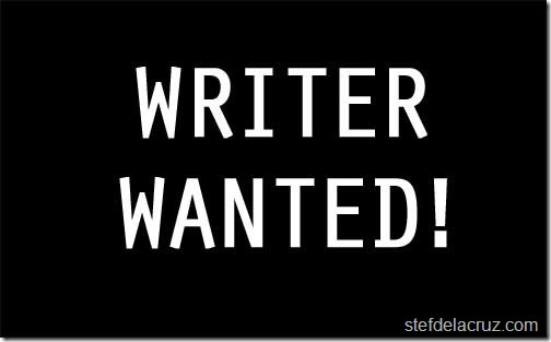 Full-Time Writer Wanted