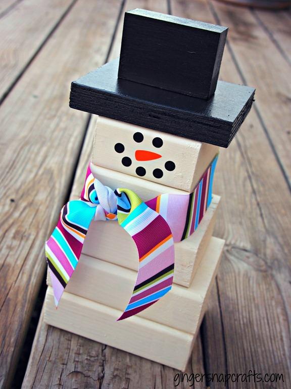 2x4 snowman tutorial