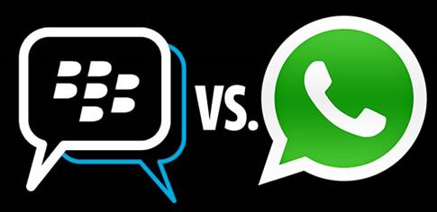 BlackBerry Messenger mejor que WhatsApp