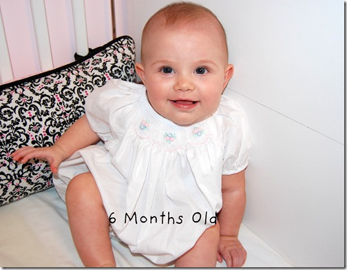 Cailyn 6  Months Old