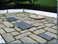 1442 Arlington, Virginia - Arlington National Cemetery - President J. F. Kennedy Gravesite with eternal flame