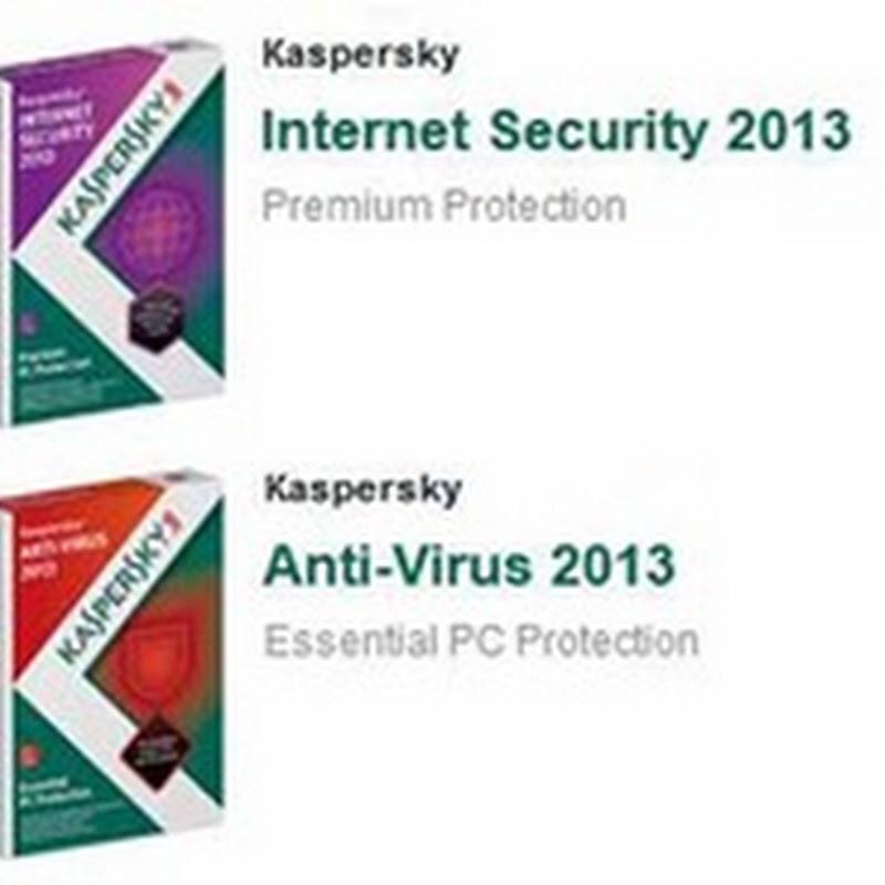 Kaspersky Luncurkan Kaspersky Anti Virus (KAV) 2013 dan Kaspersky Internet