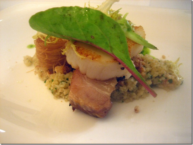 gelonch: scallop &amp; pork