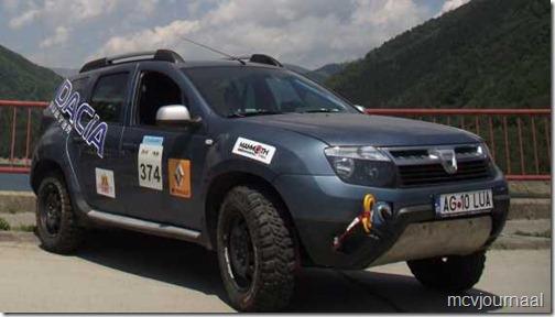 Dacia Duster Balkan Bresau Rally 2012 04