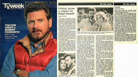 1985-06-30_Chicago Tribune TV Week - Falcon Crest's Robert Foxworth