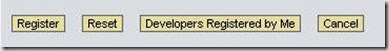 Developer Key and its requirement (DEVACCESS table)
