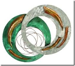 greenmetalwalldecor
