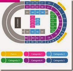 Palacio de Deportes Jose María Martin Carpena entradas para Violetta 2015