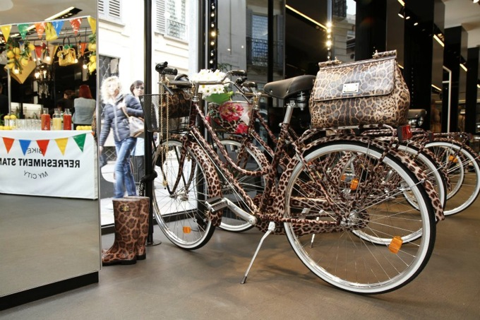 dolce&gabbana bike, bike my city event