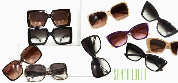oculos de sol santa lolla