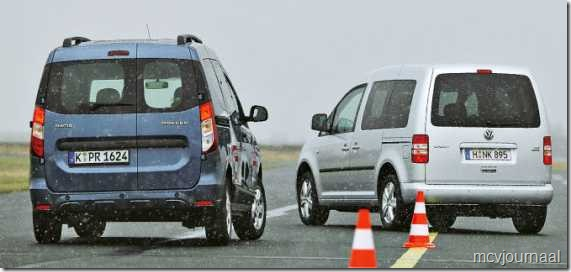Dacia Dokker vs VW Caddy 11