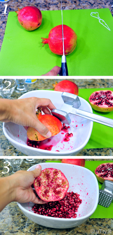 How to Remove Seeds from Pomegranate, the Easy Way    http://uTry.it