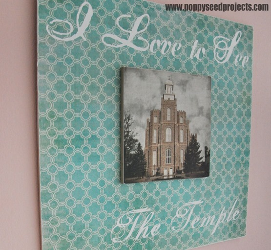 Super Saturday Craft Idea - LDS Temple Projects
