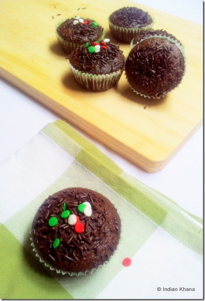 Vegan chocolate cupcakes recipe