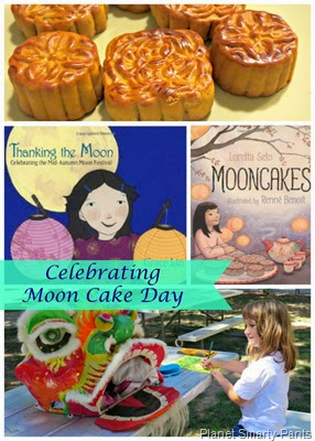 Celebrating Chinese Mid Autumn Festival (Moon Cake Day)