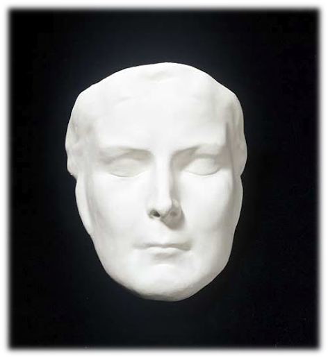 Máscara funeraria de la Emperatriz Elisabeth de Austria, Sissi.