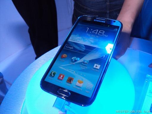 Samsung Galaxy Note 2 LTE Globe